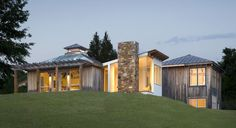 Rural Infill home by Meditch Murphy Architects