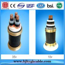 Single-Core/Three-Core Medium Voltage 26/35KV Copper Aluminum XLPE Power Cable