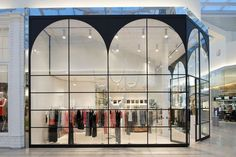 Gallery of all sh linehouse 3 retail arch small store design. Retail Interior, Interior Exterior, Exterior Design, Retail Facade, Shop Facade, Facade Design, Door Design, Shop Interior Design, Retail Design