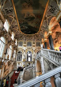 Winter Palace--walked these stairs in Sept 2015!!