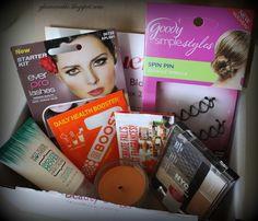 Influenster VoxBox Review: Beauty Blogger - 2012 ~ Glamorable!