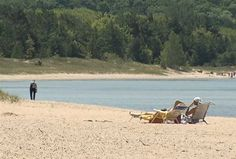 Petoskey Beach Voted Best Lake Beach In The Nation ~ Weather Channel. Plan your trip to the Petoskey Area at http://www.PetoskeyArea.com.