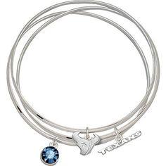 Houston Texans Spirit Crystal Bangle Bracelet Set