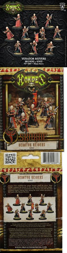 Hordes 168255: Hordes: Skorne: Venator Reivers Unit (Pip74087) New -> BUY IT NOW ONLY: $52.95 on eBay!