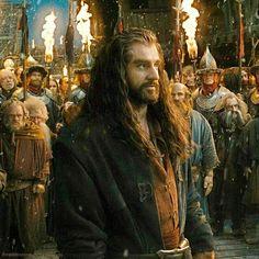 Thorin in Lake-town.