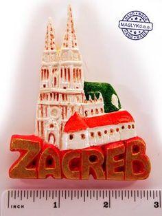 Souvenir Magnet Kaptol Zagreb image 5