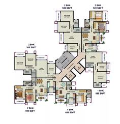 Wing C | Typical Floor Plan Residential Building Plan, Building Plans, Building Design, Dream House Plans, Best House Plans, House Floor Plans, Condominium Architecture, Architecture Plan, Hotel Floor Plan