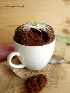 Ciasto z kubka w 5 minut – Zjem to! Eat Me Drink Me, Sweet Little Things, Polish Recipes, Dessert Recipes, Desserts, Nutella, Sweet Recipes, Donuts, Clean Eating