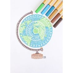 The STABILO point 88 is available in 47 brilliant colors including 6 neon shades. Mandala Doodle, Mandala Art Lesson, Mandala Artwork, Doodle Art Drawing, Mandala Drawing, Sharpie Drawings, Pencil Art Drawings, Sharpie Zeichnungen, Pencil Drawings