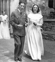 Tony and Joan's 1946 wedding day
