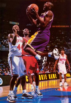 Kobe Top Ten 2000 Rookie Game ..... The shoe that started it all is also among the few to never comeback. Worn by Kobe Bryant during the majority of his rookie season,