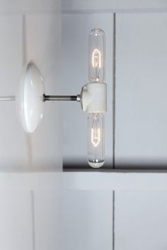 Double Wall Sconce Light - Bare Bulb Lamp - Industrial Light Electric - 1