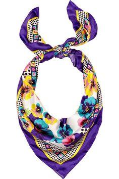 versace silk scarves - Google Search