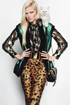 Sam McKnight On Lara Stone's August 2015 Vogue Cover Hair (Vogue.co.uk)
