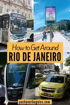 Rio de Janeiro is one of the the biggest city in South America and the biggest tourist destination in Brazil. Whether you're coming for its beaches, Carnival, or seeing the Christ statue in person, following these transportation tips will help make your trip as smooth as possible.