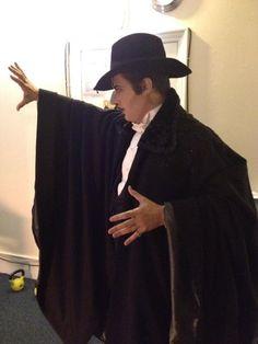 Majesty's Theatre, London. Gerónimo Rauch is the Phantom of the Opera / Gerónimo Rauch es el Fantasma de la Ópera. Fuente: Galería – Club de Fans Oficial de Gerónimo Rauch