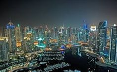 An exciting view in Dubai