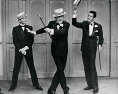 Sinatra, Crosby, and Martin