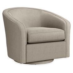 Amos Swivel Chair - Modern Accent & Lounge Chairs - Modern Living Room Furniture - Room & Board
