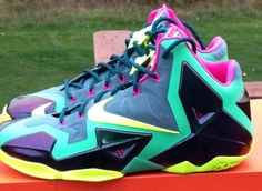 """746cf3d15bee Nike LeBron 11 """"T-Rex"""" from www.marsportshop.com Subscribe to"""