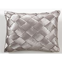 Elegant Living Champagne Diamond Pleat Bed Cushion | Bedroom Cushions | ASDA direct