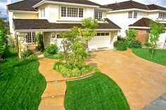 When we expand the driveway.... I'd love this for the whole driveway, and over the current triangular garden, walkway and extend to the area between the house and garage, and possibly even into the backyard connecting the patios and if we have a pool by then, around the pool.
