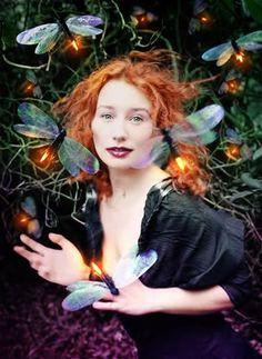 ~ Magical fairytale ~ Tori Amos with dragonflies. Tori Amos Portrait by David LaChapelle Tori Amos, Tori Tori, David Lachapelle, Beltane, Terry Richardson, Samhain, Jean Paul Goude, Wow Photo, Image Beautiful