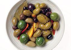 Citrus-marinierte Oliven