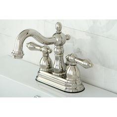 Heritage Polished Nickel Bathroom Faucet