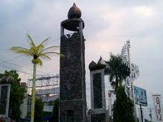 Tugu Salak , salah satu landmark kota padangsidimpuan
