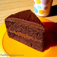 Sugar-Free, Healthy Chocolate Cake (Made from Black Beans!) | Flickr - Photo Sharing!