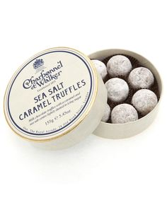 Sea Salt Caramel Truffles, Charbonnel et Walker. Shop more truffles form the Charbonnel et Walker collection from the Chocolate Shop online at Liberty.co.uk