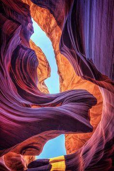 Arizona desert canyons.