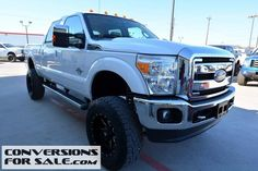 2012 Ford F250 SD Lariat FX4 Crew Cab Diesel Lifted Truck