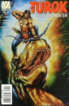 Cover for Turok, Dinosaur Hunter (Acclaim / Valiant, 1993 series) #35