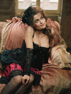 Helena Bonham Carter  Via Steam GirlsOTHER WORLD FANTASY