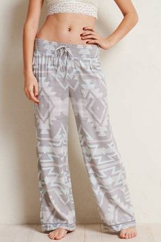 Aerie Wide Leg Sleep Pant  by AERIE   With plenty of room to be your selfie!  Shop the Aerie Wide Leg Sleep Pant  and check out more at AE.com.
