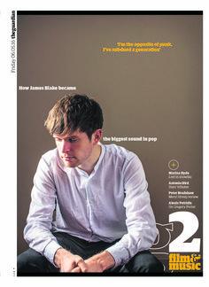 Guardian g2 cover: James Blake Gregory Porter, James Blake, Meryl Streep, Hyde, Graphic Design Inspiration, The Guardian, Editorial Design, Magazine Covers, Magazines