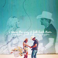 Remind Me, Carrie Underwood/ Brad Paisley :)
