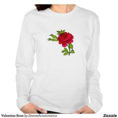 Valentine Rose Tshirt