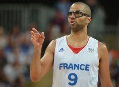 JO 2012/ Basket-ball, Tony Parker
