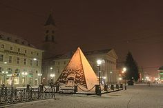 Pyramid in Karlsruhe, Germany