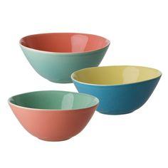 Ceramic Two Tone Bowl - Rice