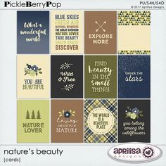 Nature's Beauty - Cards By Aprilisa Designs