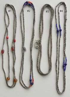 silver amulet necklace from Ethiopia