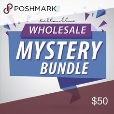 WHOLESALE MYSTERY BUNDLE Have you been thinking about getting into retail but want to dip your toes in instead of diving?   Well here's the PERFECT Mystery Bundle for you!!!    Bundle includes 5 brand new retail items: accessories, shoes, clothing, etc.  You cannot choose your items, ALL SALES ARE FINAL!!!   No exchanges or returns. Bellanblue Tops