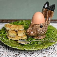 Hare Egg Cup - easter homeware