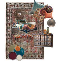 Boho inspired bedroom