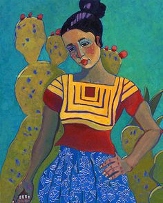 Veronica's Huipil by Kathy Sosa