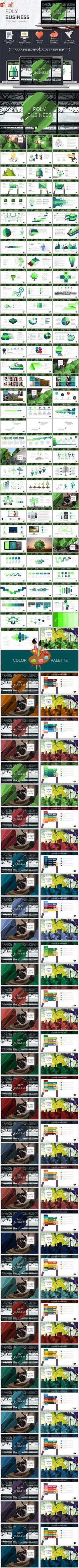 Masterbiz complete pitch deck powerpoint decking business lowpoly business powerpoint template design download httpgraphicriver toneelgroepblik Images